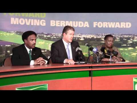 PLP Candidate Jonathan Smith Announced Bermuda November 17 2011