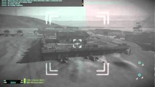 Some BFBC2 Apache Flying / Gunning (#2)