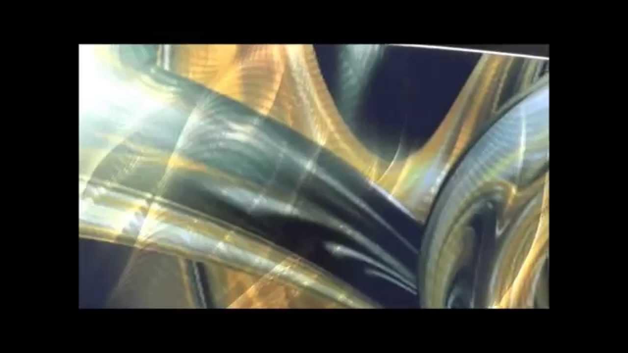 & aluminum wall art - aluminum large wall art panels - YouTube