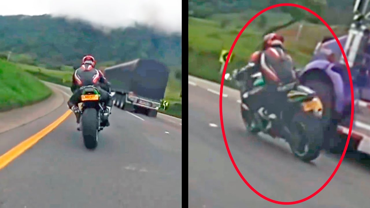 When your b4lls go up to your neck! - Scary sportbike moments #1