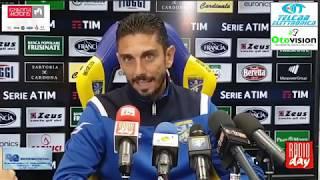 08/11/2018: Serie A, Pre Frosinone – Fiorentina, conferenza stampa Moreno Longo