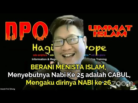 Download Menghina Islam, kini jadi tersangka dan diburu polisi