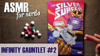 Infinity Gauntlet ASMR #2 Comic Reading - male, whisper, page turning