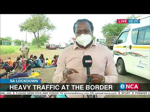 Numerous people arrested for crossing the border illegally   SA lockdown