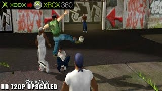 Urban Freestyle Soccer / Freestyle Street Soccer - Gameplay Xbox HD 720P (Xbox to Xbox 360)