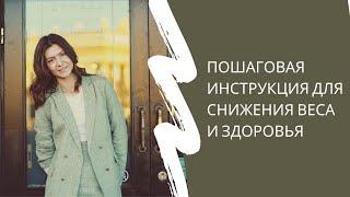 постер к видео Пошаговая инструкция к снижению веса и здоровью
