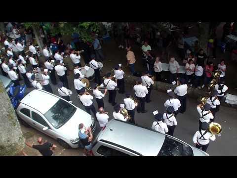 Banda de Musica de Vila Boa de Quires - receção aos merendeiros