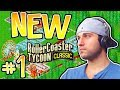 NEW RollerCoaster Tycoon Classic P1 | Frontier Forest | Steam