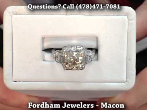 Fordham Jewelers (Macon, GA) Vintage Antique Estate Jewelry Buyers & Dealers Cartier Ring