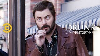 The Son of Notorious Arsonist Johnny Cool Tells His Story (feat. Nick Offerman) - Drunk History