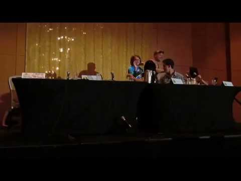Adventure Time Live Read of Burning Low at DragonCon 2014