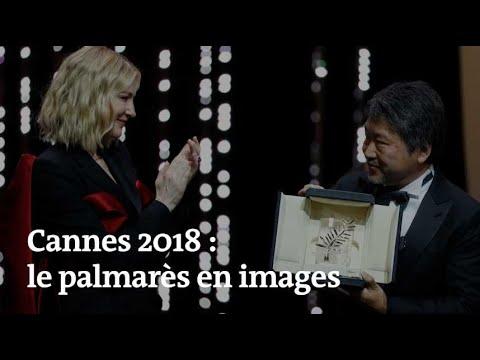 Cannes 2018 : le palmarès en images
