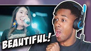 AMERICAN REACTS TO Via Vallen - Senorita Koplo Cover Version Shawn Mendes feat Camila Cabello