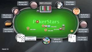Online Poker Show: Sunday Million - April 1st 2012 - PokerStars.co.uk