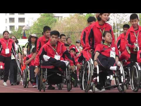 เปิดกีฬาคนพิการแห่งชาติครั้งที่ 15 เมืองมะขามหวานเกมส์