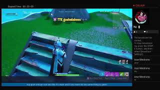 playing fortnite with gavin the bot and pateyn the toxic man.