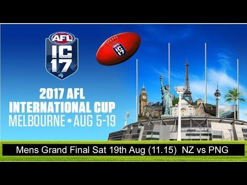 Mens Grand Final - New Zealand Vs Papua New Guinea