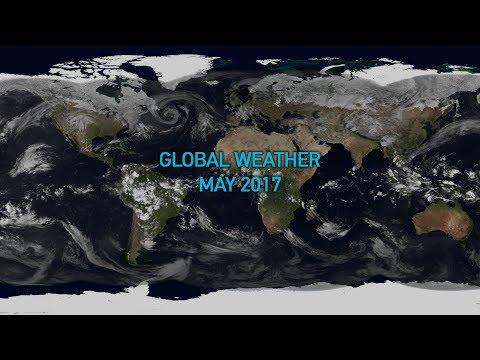 Global weather May 2017