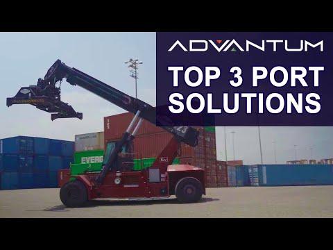 Top 3 Solutions for Ports | ADVANTUM Port, Warehouse & Motor Vehicle