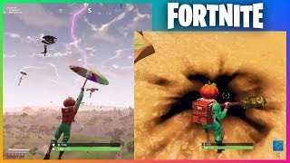 Purple Lightning Crack *FIRST LOOK* | Fortnite Thunder Storm Conspiracy Theory
