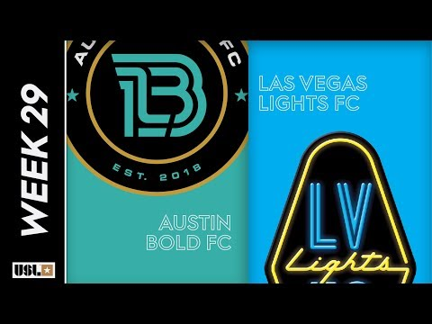 Austin Bold FC vs. Las Vegas Lights FC: September 22, 2019