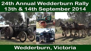 24th Annual Wedderburn Rally 2014 - Wedderburn Vic - Historical Engines and Machinery