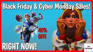 *NEW* Black Friday & Cyber Monday SALES Happening Right Now! (Skins & Bundles)   Fortnite