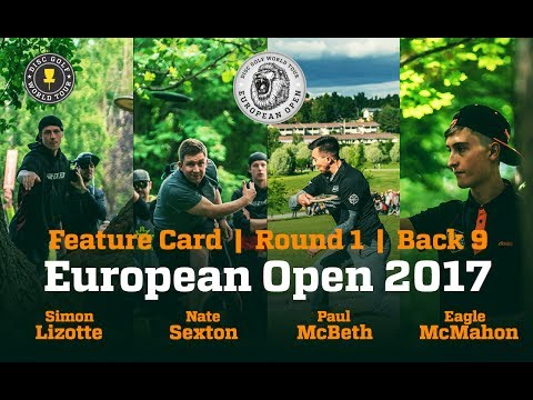 European Open 2017 Feature Card Round 1 Back 9