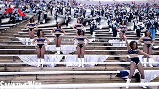 """The Show"" Jackson State JSettes and Band  - 2021 Edward Waters game"