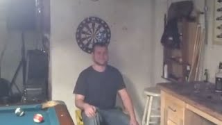 This Game Of Darts Did Not End Well For This Guy