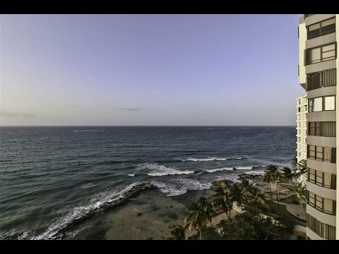 North Facing Oceanfront Bi-Level Penthouse in San Juan, Puerto Rico