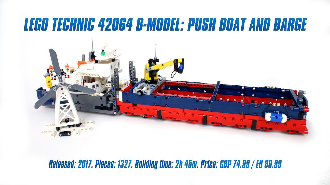 How To Build A Model Barge