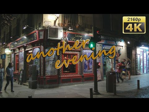Another Evening in Madrid - Spain 4K Travel Channel
