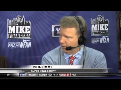 Mike's On: Phil Simms