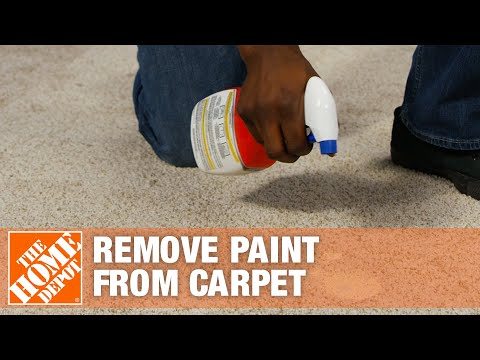 How to Get Paint Out of Carpet | The Home Depot