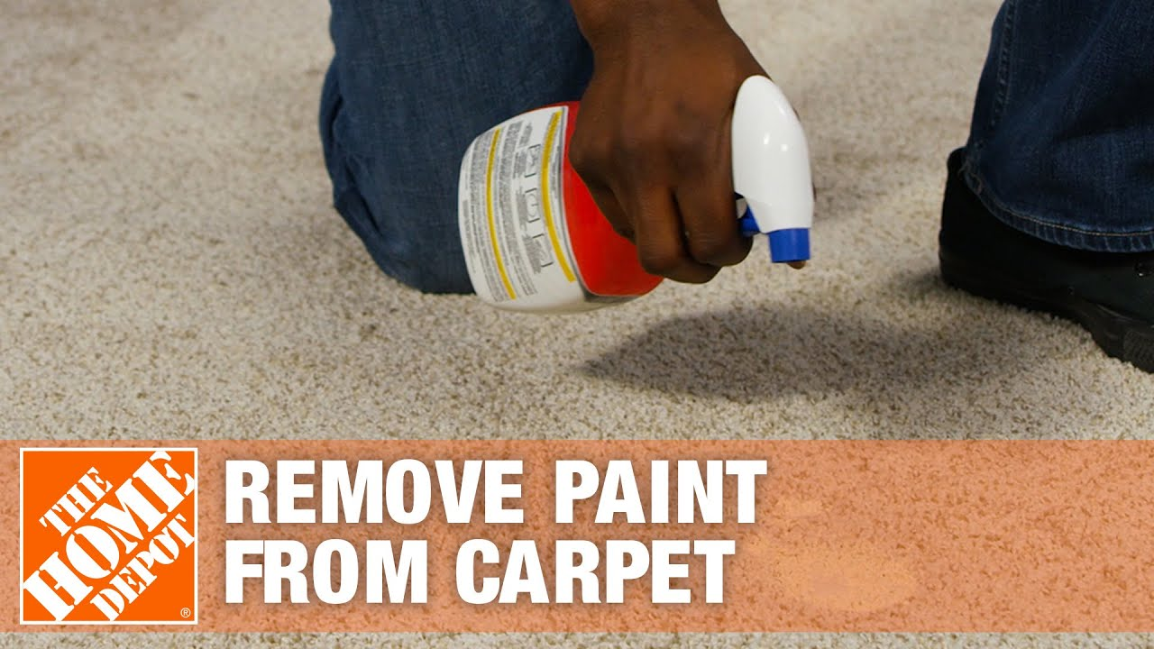 How To Get Paint Out Of Carpet The