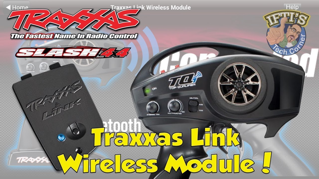 #16 Traxxas Slash 4X4 : Traxxas Link Wireless Module 6511 - Installation &  Overview!