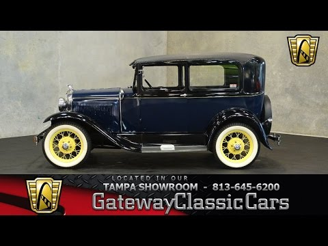 653 TPA 1930 Ford Model A 4 Cylinder 3-Speed Manual