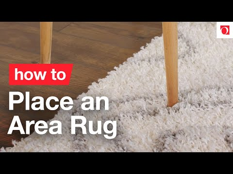 Area Rugs 101 How To Place An Rug