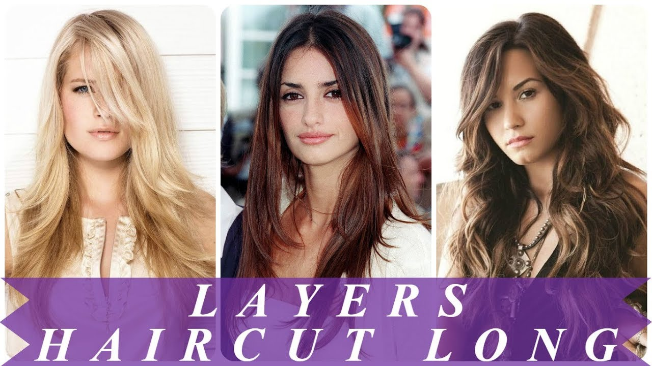 trendy haircuts with layers for long hair 2018 for women - youtube