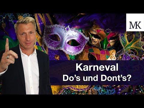 Karneval: Do's and Don't für die jecken Tage - Tipps vom Anwalt! #FragMingers
