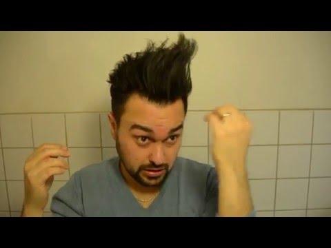 Erkek saç kesimi ve saç modeli Modern...