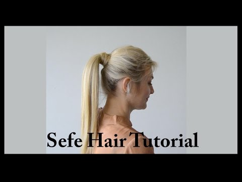 How To Apply A Wrap Around Ponytail