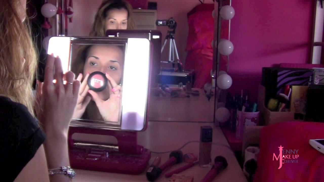 Maquillaje Con Espejo Luz Natural Youtube
