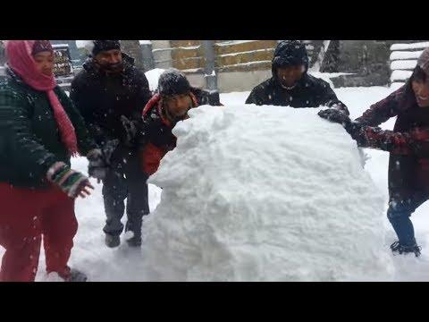 Snowfall in Dadeldhura Nepal Most Watched Vidio 2019| 2075 |