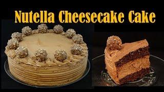 Nutella Cheesecake Cake -with Yoyomax12
