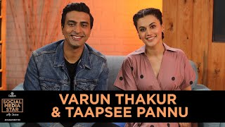 &#39Social Media Star with Janice&#39 E02 Taapsee Pannu and Varun Thakur