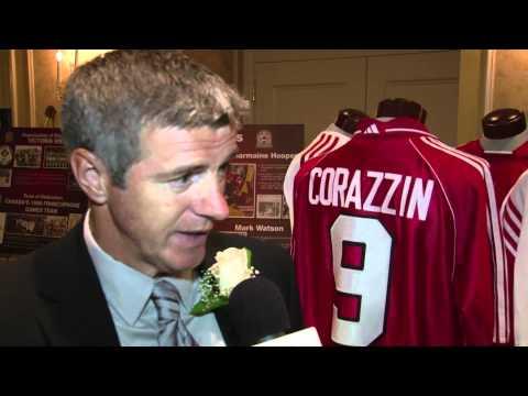 Colin Miller, The Soccer Hall of Fame 2012
