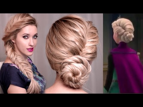 Frozen's Elsa Hairstyle Tutorial for Long Hair