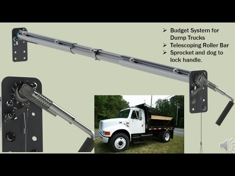 dump truck tarp system options in depth youtube